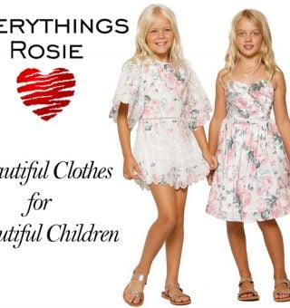 Everythings Rosie online shop designed by Abbeywebs