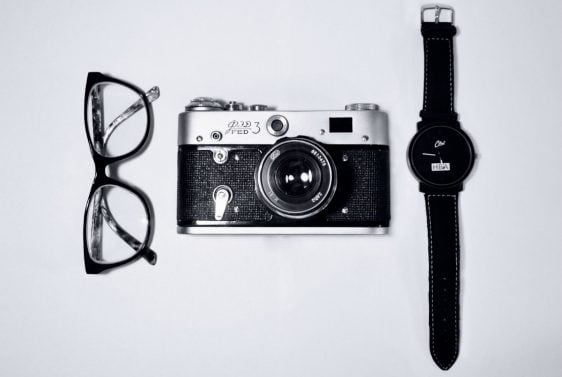 Glasses camera and watch